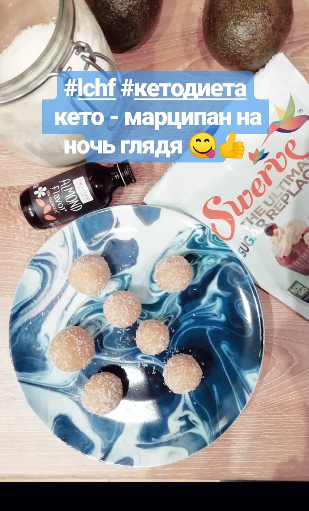 кето-марципан, рецепт марципанов