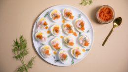 Фаршированнные яйца