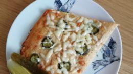 кето-пицца на кокосовой муке