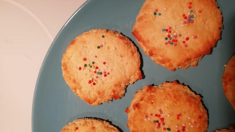 Миндальное кето печенье рецепт